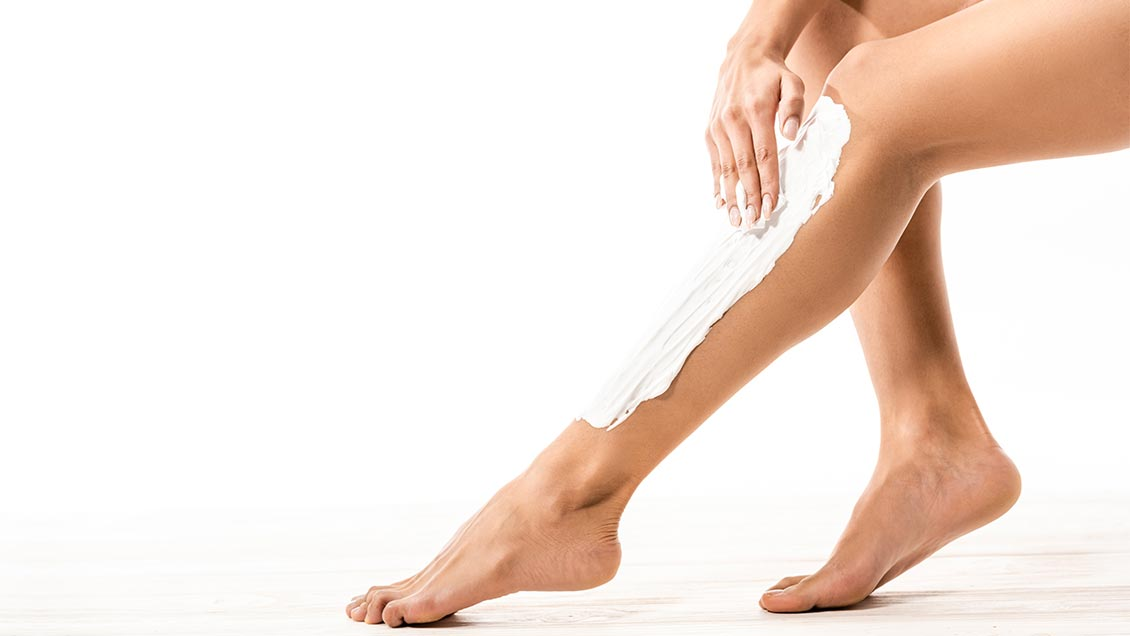 shave guide women lather legs